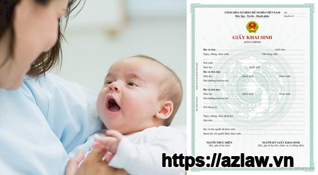 Thủ tục làm giấy khai sinh cho con mới nhất 2021
