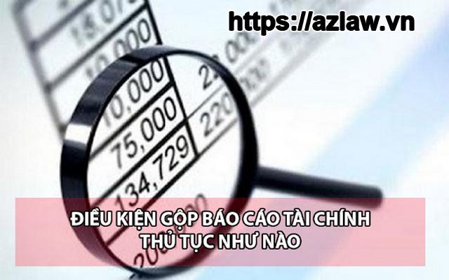 Mẫu công văn xin gộp báo cáo tài chính 2020
