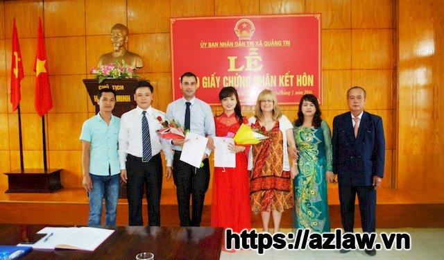Hồ sơ kết hôn với người nước ngoài