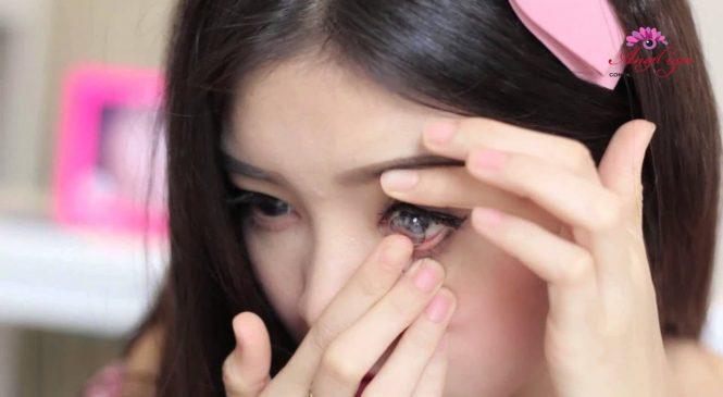 Nhập khẩu đối với kính áp tròng và dung dịch bảo quản