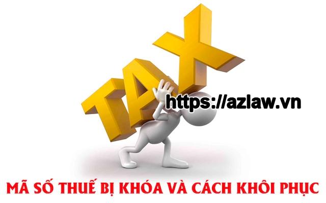 Mở lại mã số thuế bị đóng