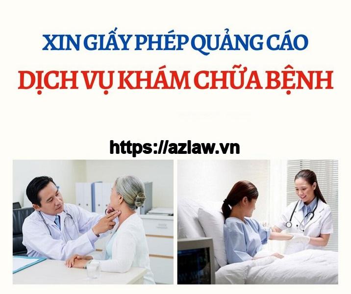 Xác nhận nội dung quảng cáo dịch vụ phòng khám