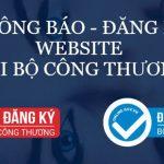 Thủ tục thông báo website thương mại với bộ công thương
