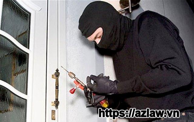 Tội trộm cắp tài sản theo luật hình sự